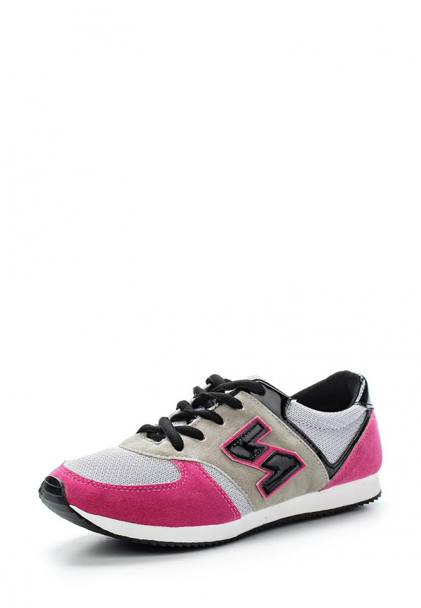 Кроссовки WS Shoes AM-802 розовые, серые