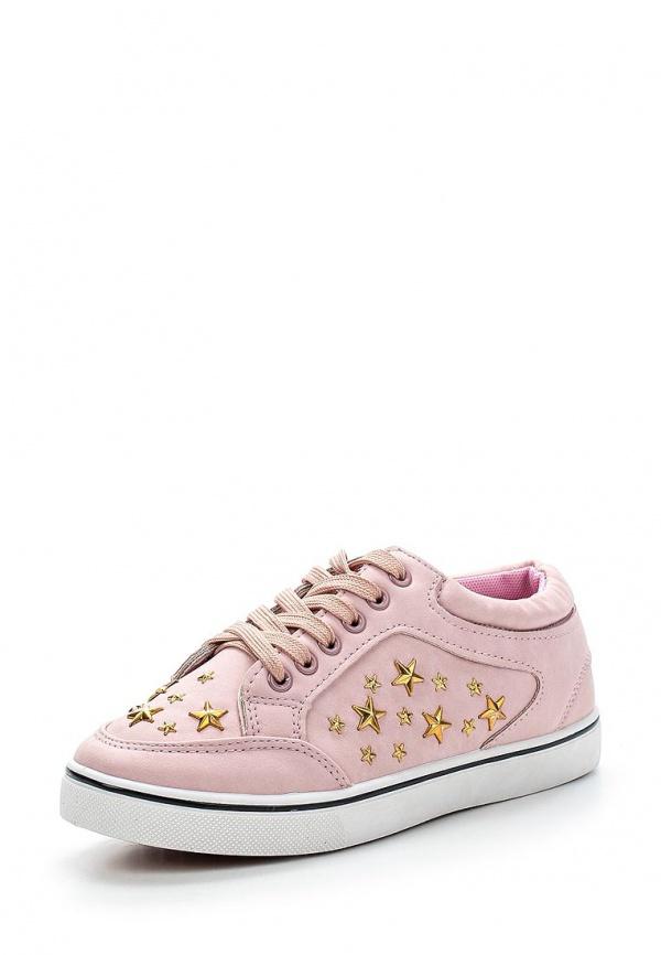 Кеды WS Shoes AM-161 розовые