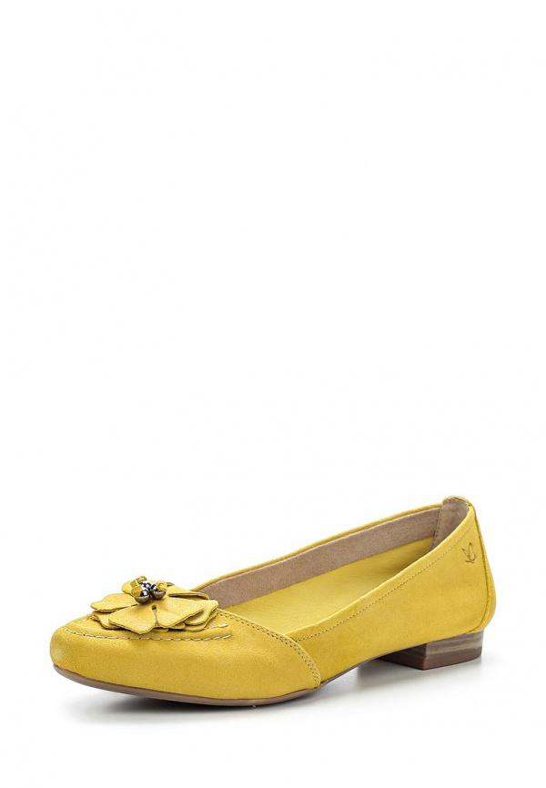 Балетки Caprice 9-9-22201-24-696 жёлтые