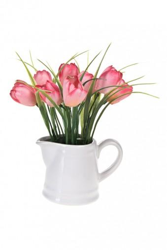 """Декоративные цветы Композиция декоративная """"Нежные тюльпаны"""""""