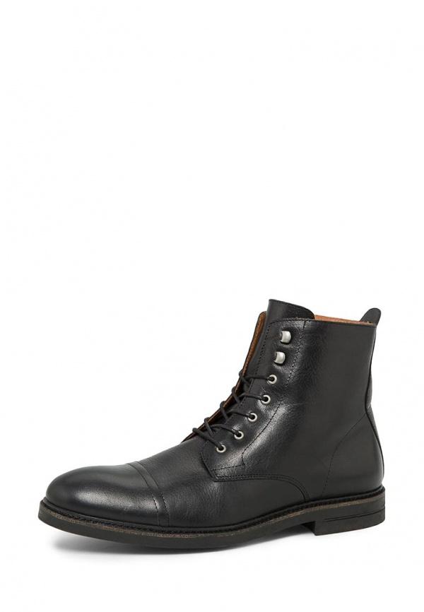 Ботинки Mango Man 34055570 чёрные