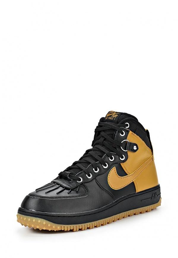 Кроссовки Nike 444745-006 коричневые, чёрные