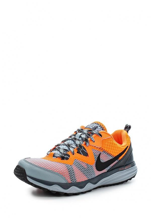 Кроссовки Nike 652867-011 оранжевые, серые