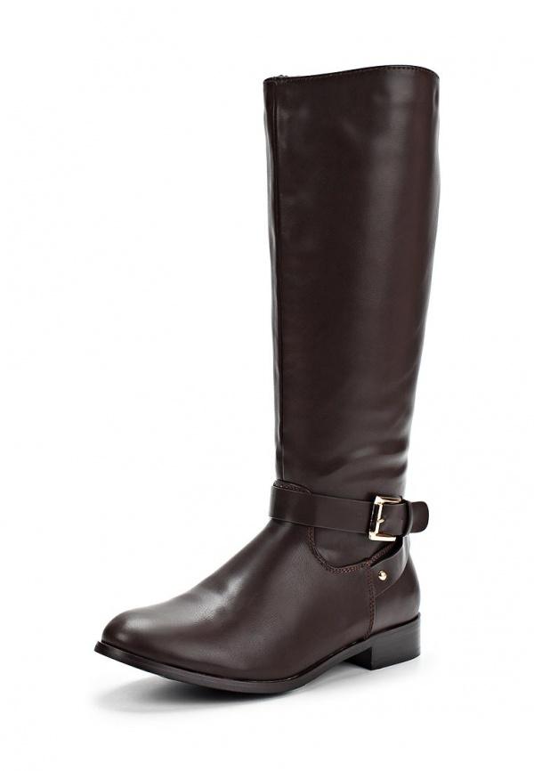 Сапоги Stesso 62S-00CSK-1A коричневые