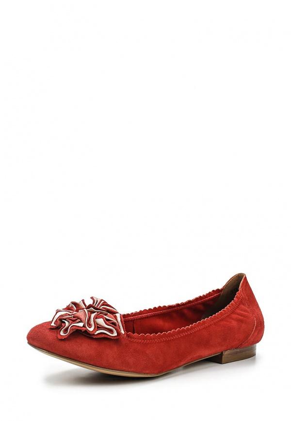 Балетки Caprice 9-9-22102-24-550 красные