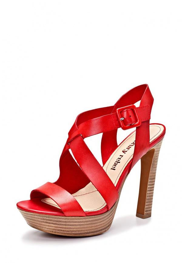 Босоножки Luxury Rebel 86364-2 красные