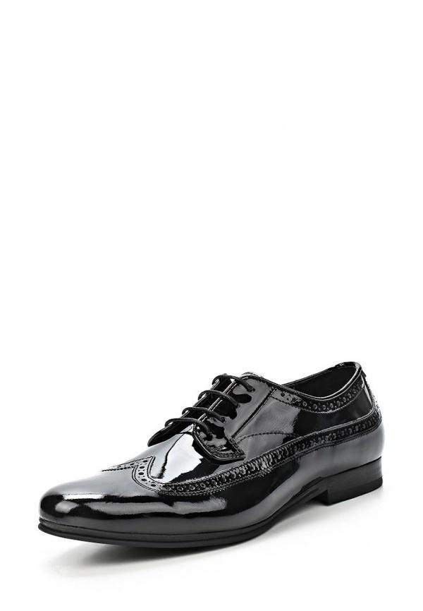 Туфли H by Hudson M601014 GOODING чёрные