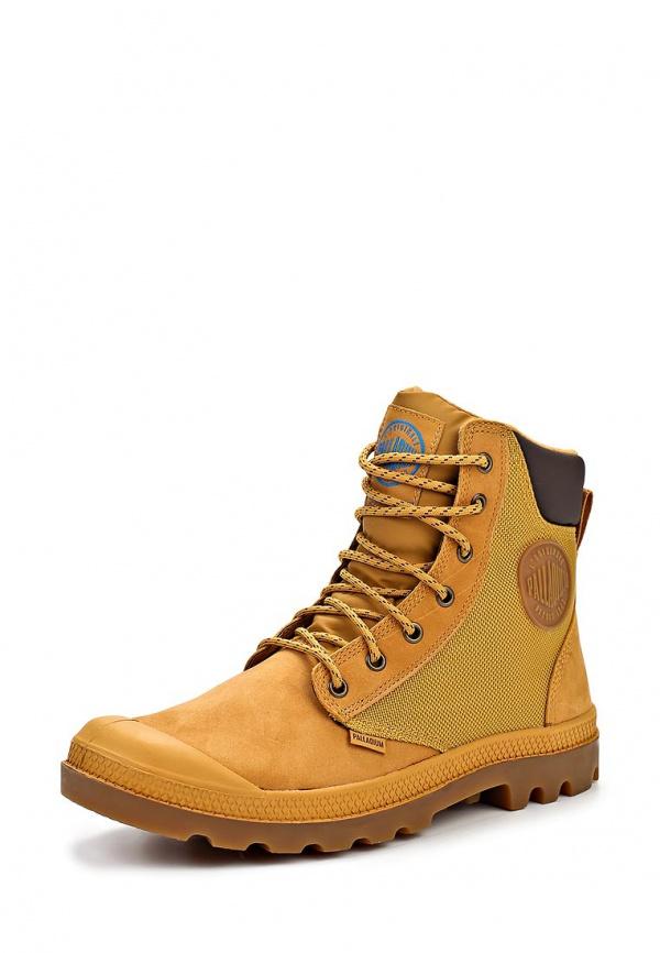 Ботинки Palladium 3087 жёлтые