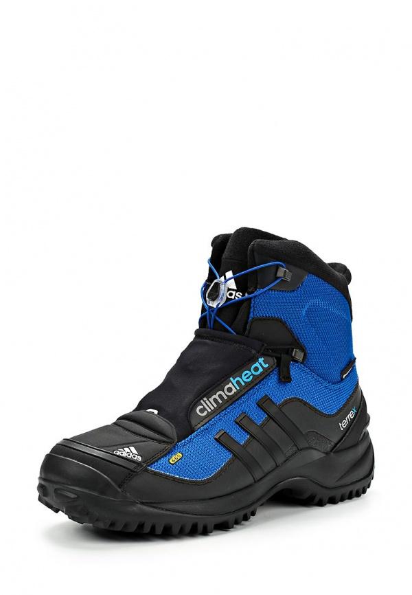 Ботинки трекинговые adidas Performance M18553 синие, чёрные