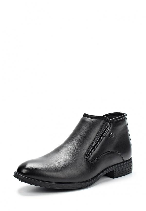 Ботинки Stesso 604-00CSU-3A чёрные