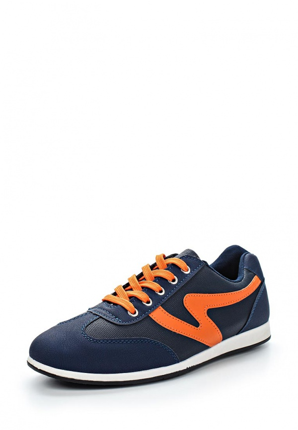Кроссовки WS Shoes 126 оранжевые, синие