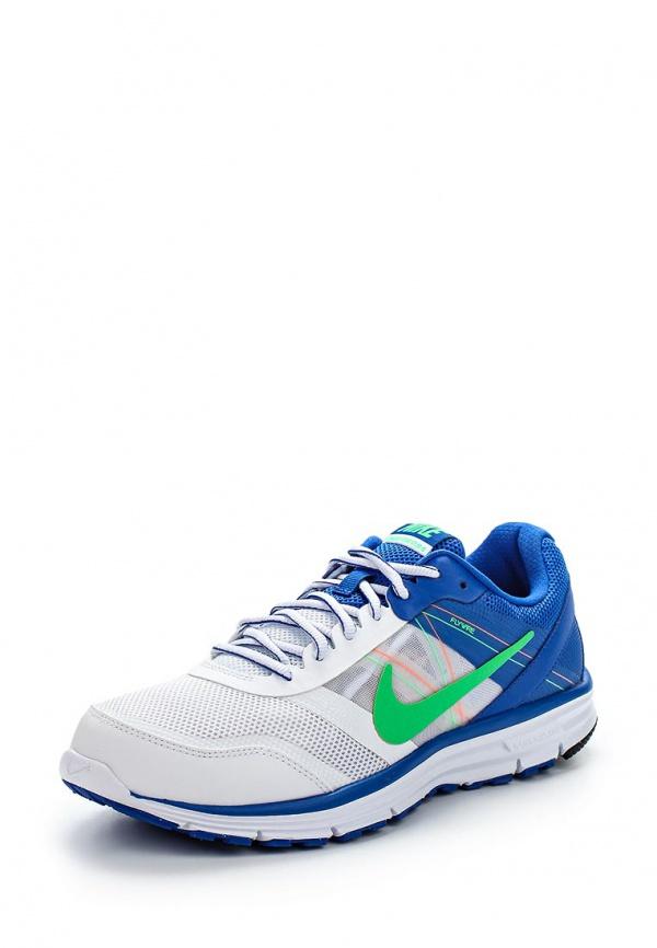 Кроссовки Nike 704913-100 белые, голубые