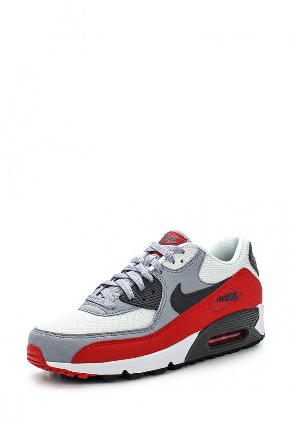 Кроссовки Nike 537384-039 белые, красные, серые