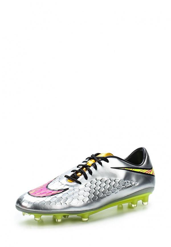 Бутсы Nike 677584-069 серебристые