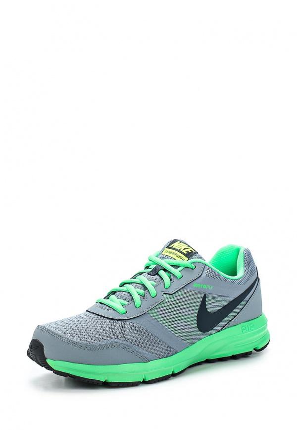 Кроссовки Nike 685138-007 зеленые, серые