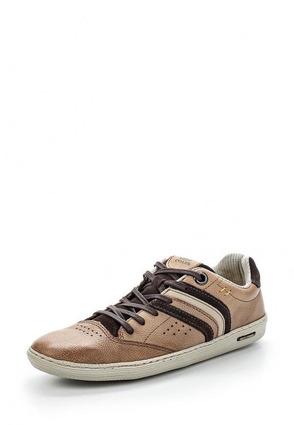 Кроссовки West Coast 110519-7 бежевые, коричневые