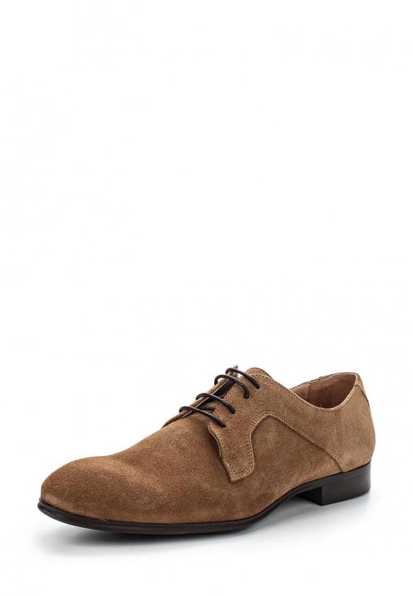 Туфли Selected Homme 16042343 коричневые