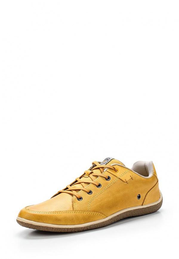 Кроссовки West Coast 116507-6 жёлтые