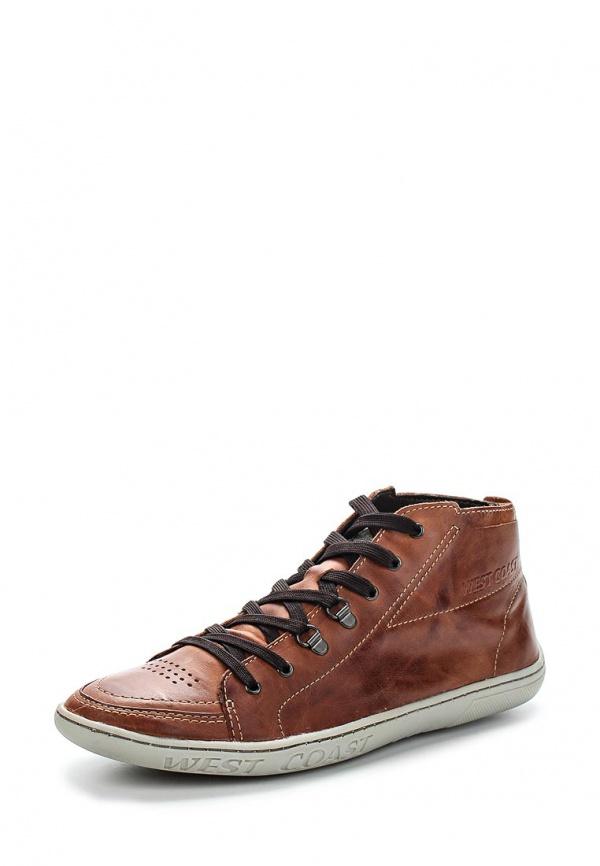Кроссовки West Coast 110305-11 коричневые