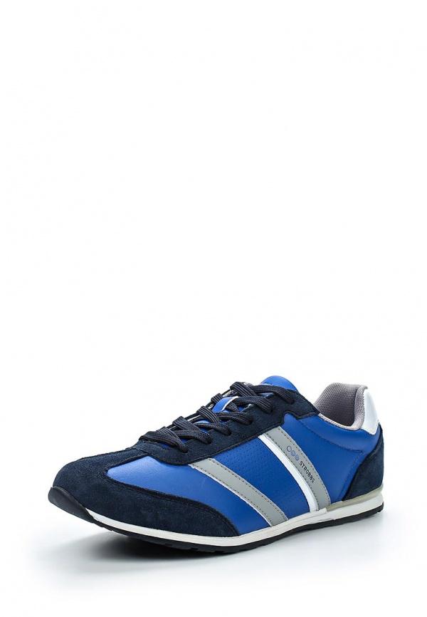 Кроссовки Strobbs C2146-22 серые, синие, чёрные