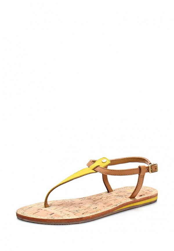 Сандалии Gant 8564113 жёлтые, коричневые