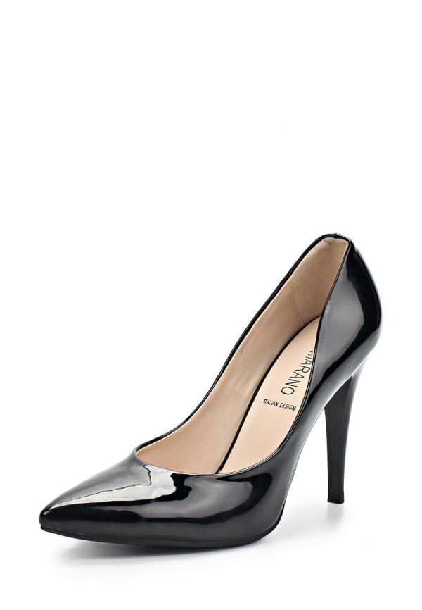 Туфли Burlesque BC-H5 чёрные