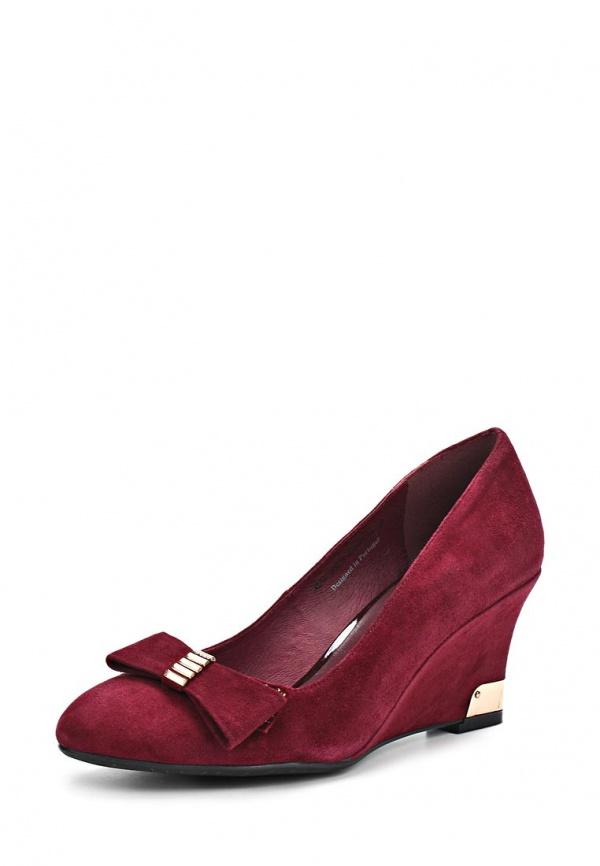 Туфли Sinta 38202-5501A-B326PYT-M бордовые