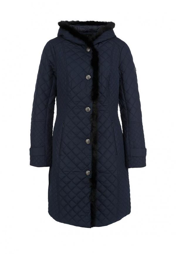 Куртка утепленная FiNN FLARE A14-11018 синие