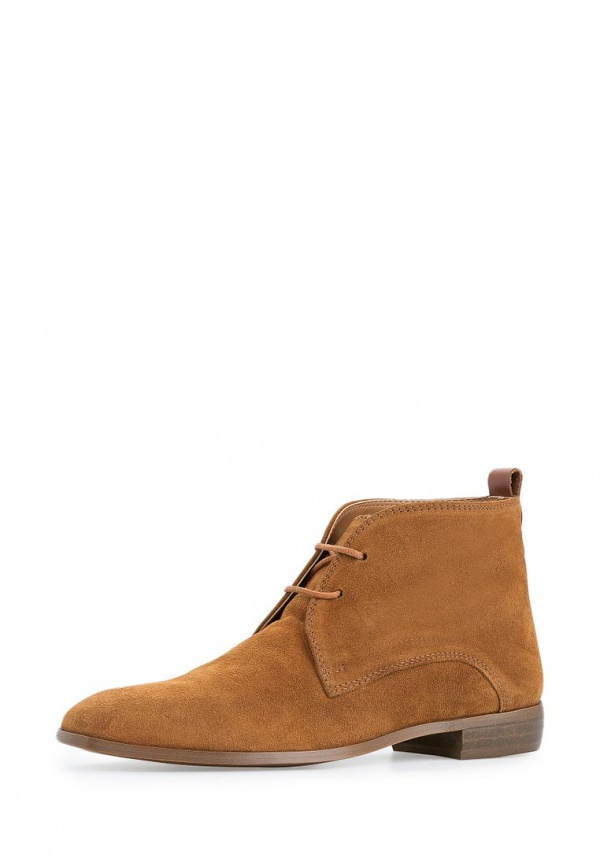Ботинки Mango 44020395 коричневые