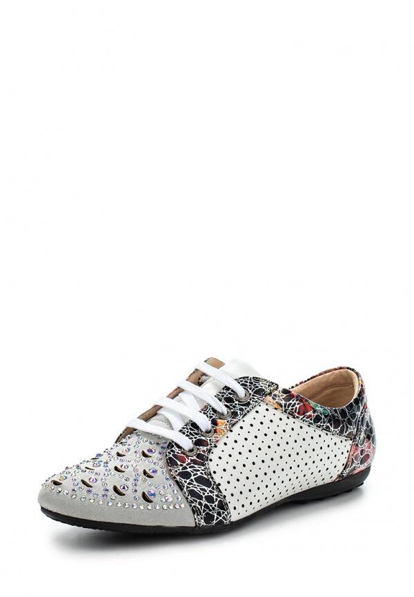 Ботинки Elsi C14-947 белые, мультиколор, серые
