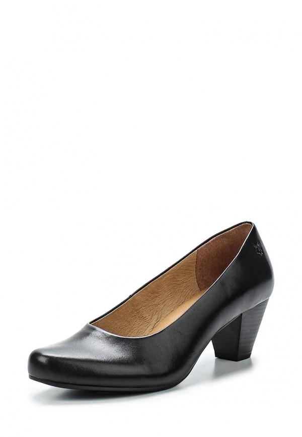 Туфли Caprice 9-9-22406-24-022 чёрные