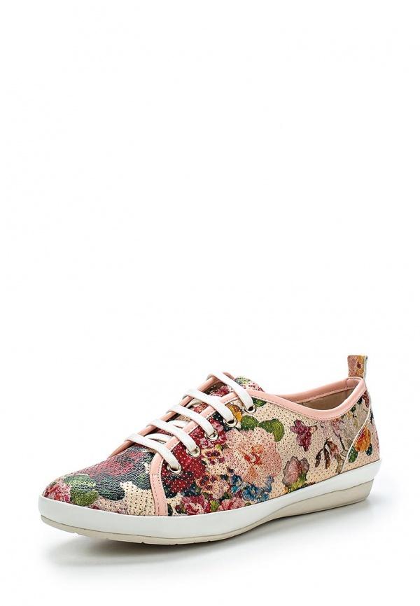 Ботинки Elsi A2026 розовые