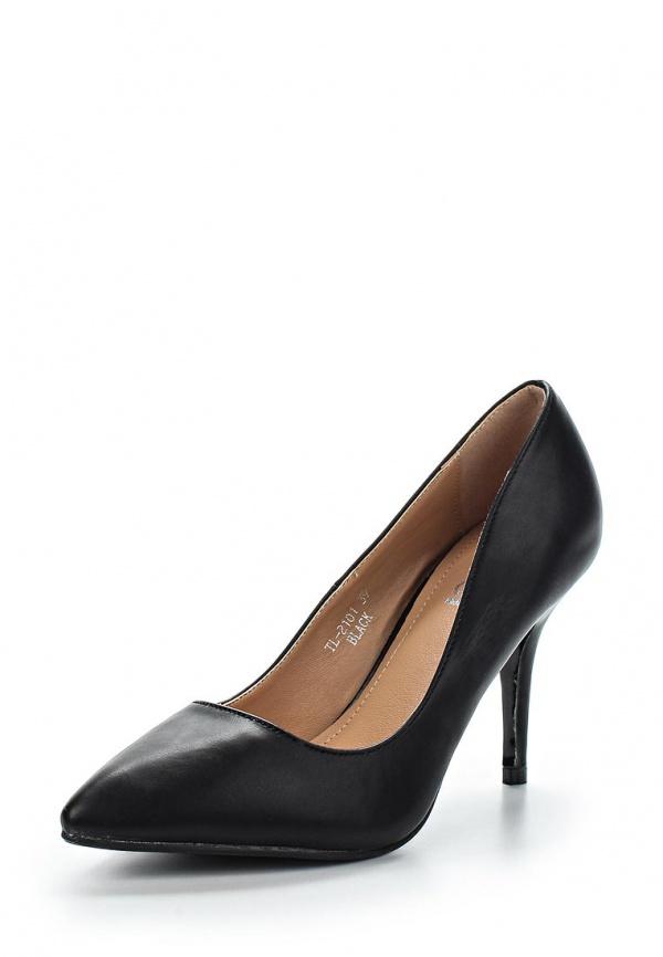 Туфли Ideal L3501-1 чёрные