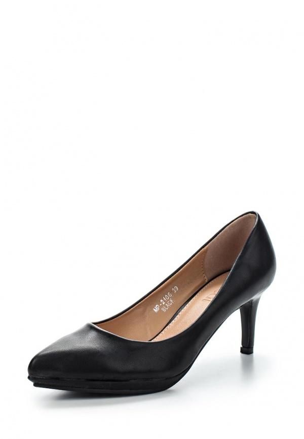 Туфли Ideal MP2106 чёрные