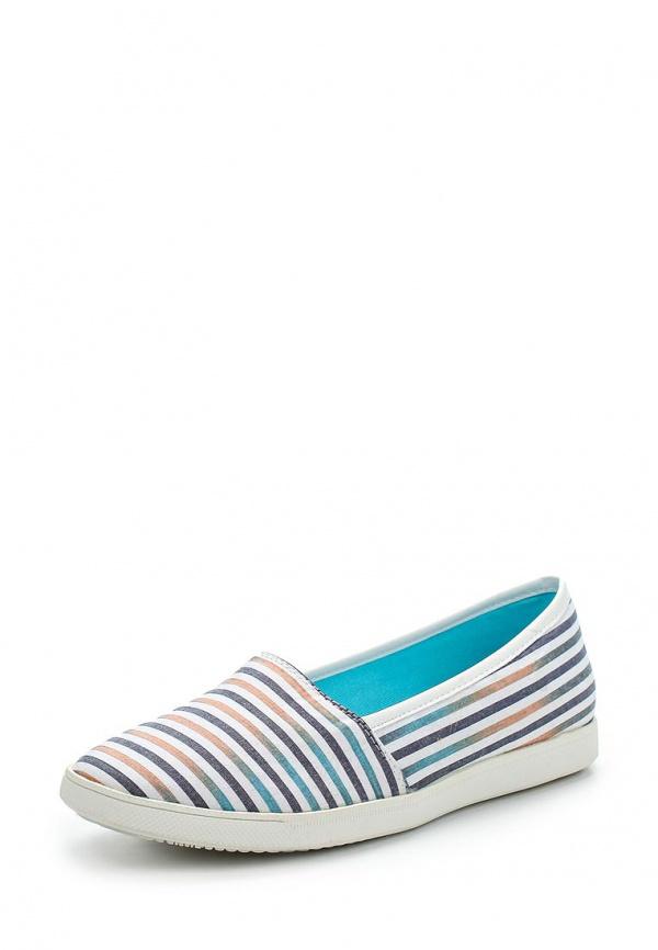 Слипоны Keddo 857335/15-02W белые, голубые, синие