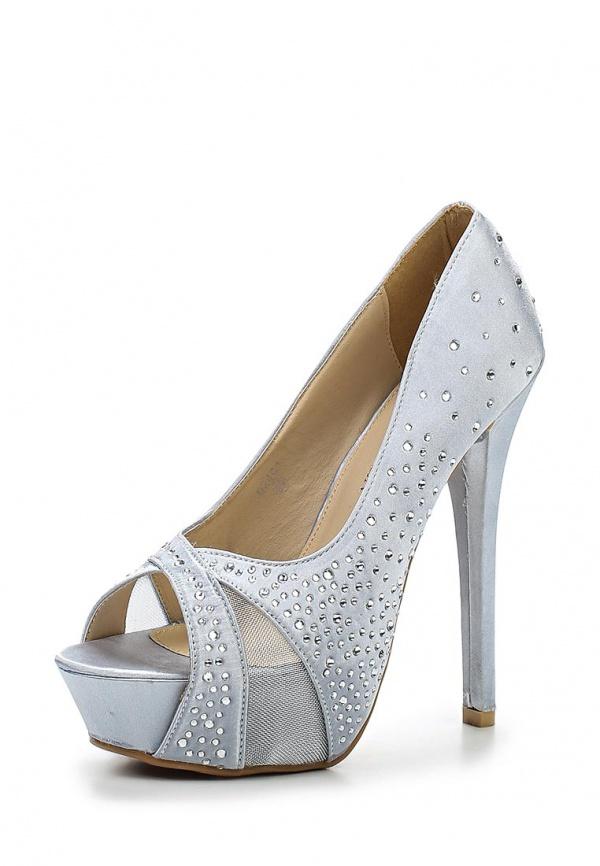 Туфли Coco Perla 2404 серебристые