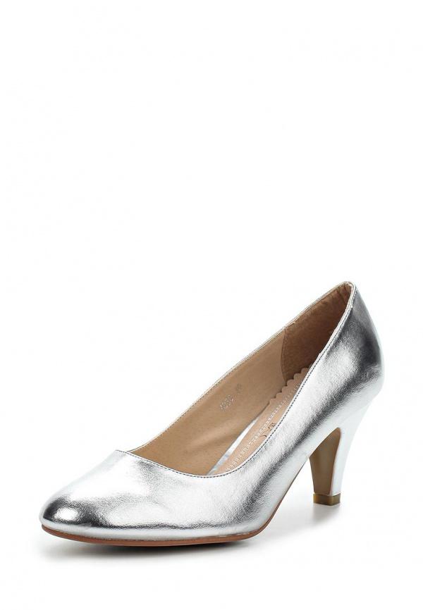 Туфли Ideal 7030 серебристые