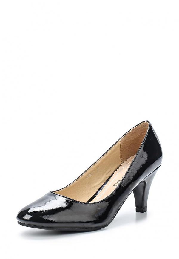 Туфли Ideal 7030-1 чёрные