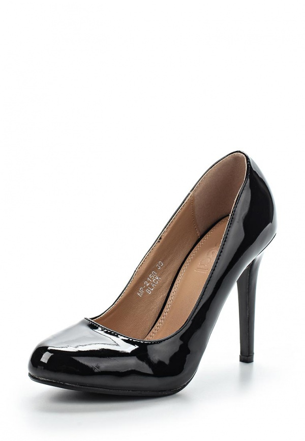 Туфли Ideal MP2158 чёрные