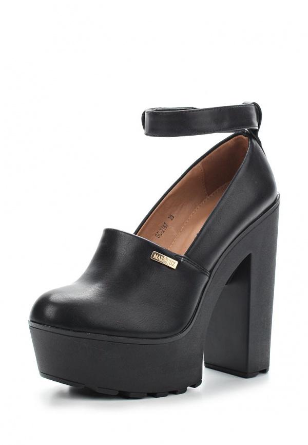 Туфли Ideal SC2167 чёрные