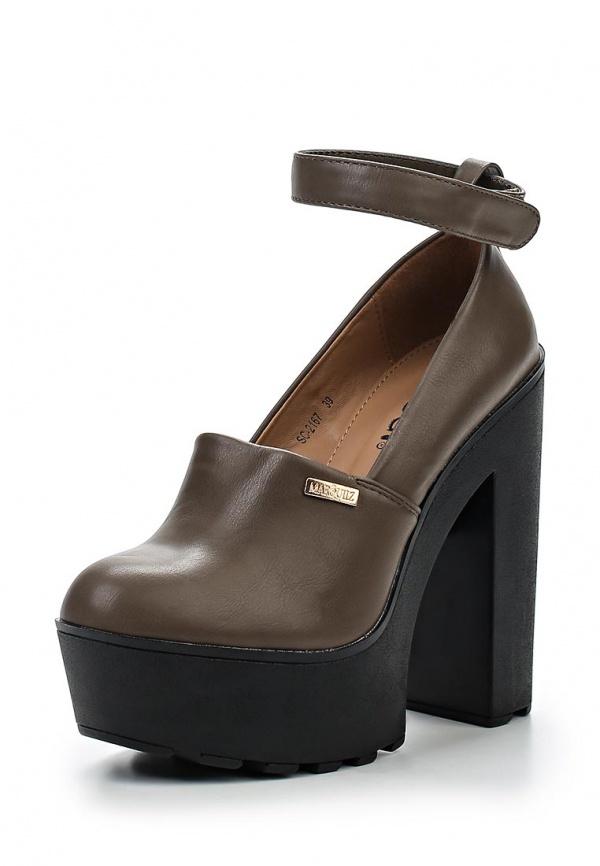 Туфли Ideal SC2167 хаки