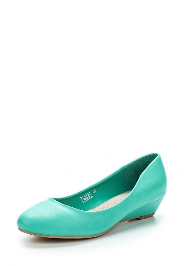 Туфли Ideal YS8722 зеленые