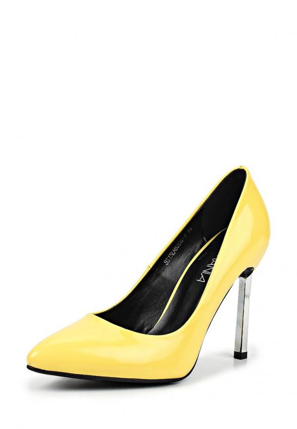 Туфли Lamania SS15LMS206-1 жёлтые