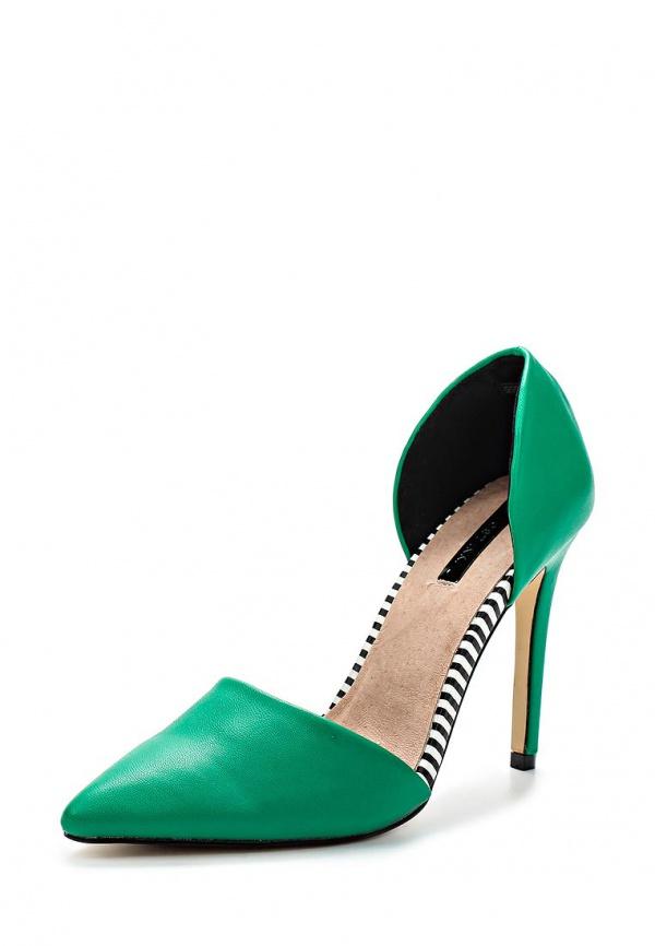 Туфли LOST INK. SS15LIW0211010004 зеленые