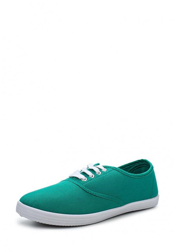 Кеды Ideal A5-16 зеленые