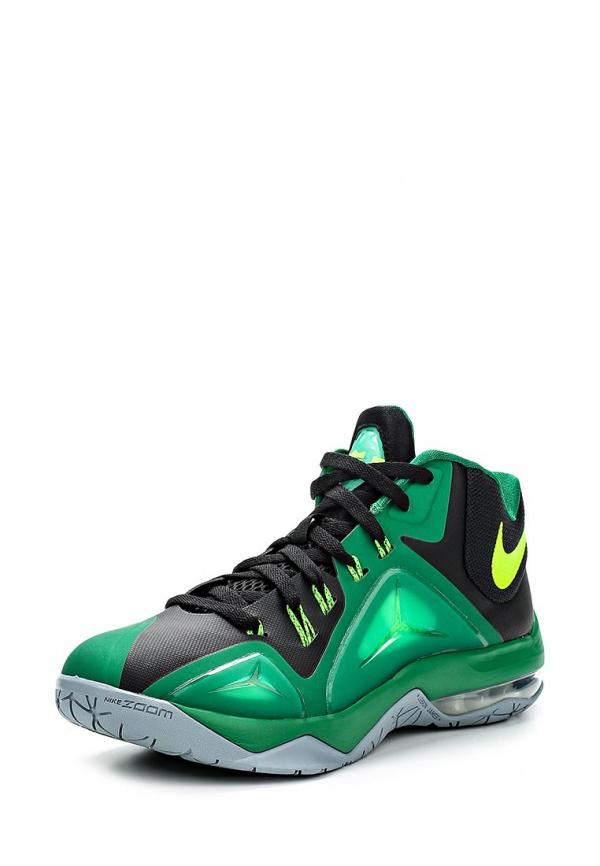 Кроссовки Nike 705269-033 зеленые, мультиколор