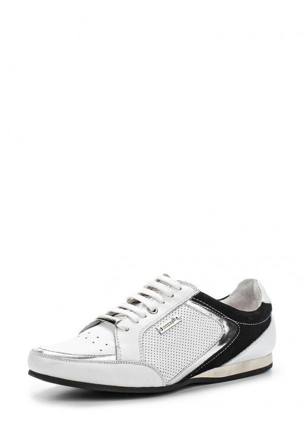 Ботинки BambooA M102535 ORION белые, чёрные