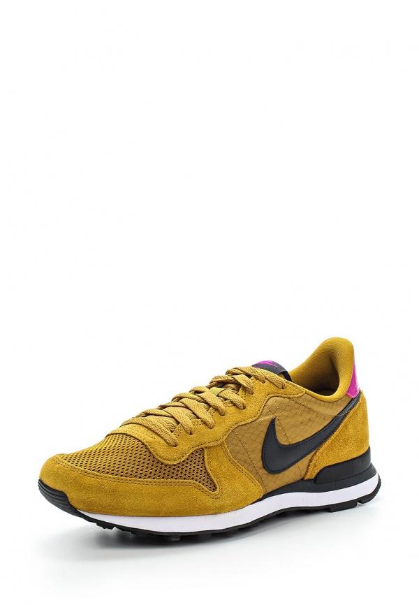 Кроссовки Nike 631754-701 горчичный