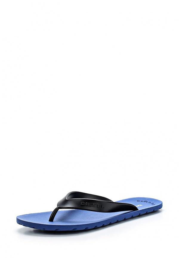 Сланцы Diesel P5Y00435.PR184 синие, чёрные