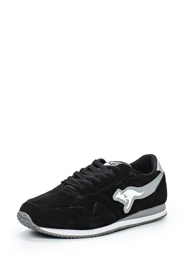 Кроссовки KangaROOS 47124 белые, чёрные